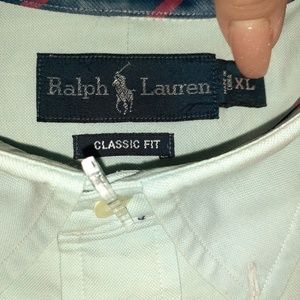 Mens Ralph Lauren Casual Button Down